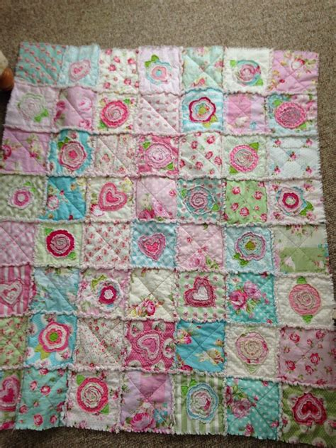 How To Make A Raggy Quilt by Rag Ragquilt Shabbychic Tanyawhelan Floralquilt