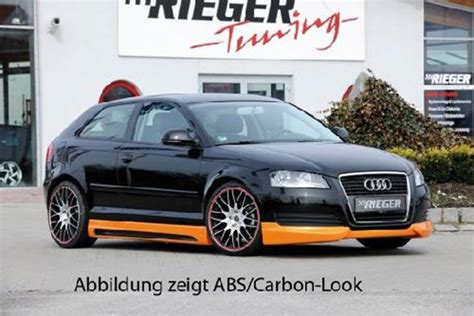 Audi A3 Tuning Teile by Seitenschweller Set Rieger Tuning Audi A3 8p Jms