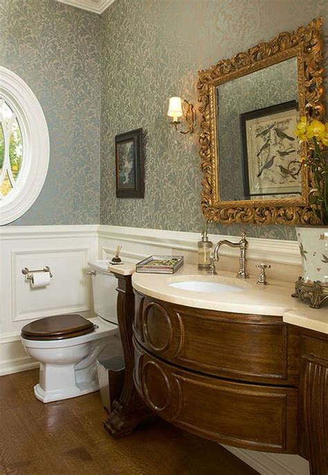 beautiful powder rooms 29 vintage and shabby chic vanities for your bathroom