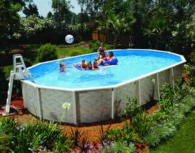 Backyard Pools Above Ground Backyard Patio Ideas With Above Ground Pool Image Landscaping Gardening Ideas