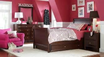 League cherry 6 pc full sleigh bedroom teen bedroom sets dark wood