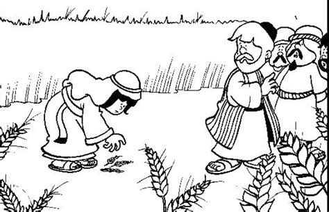 coloring pages for the book of ruth ruth and naomi coloring pages ruth and naomi coloring page