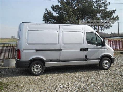 opel movano 2001 opel movano 2 2 tdi 2001 other vans trucks up to 7 photo