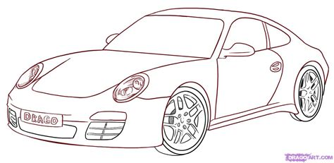 How To Draw Car How To Draw A Sports Car Sports Cars