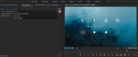 Adobe Refines The Premiere Lumetri Color Panel As Well As New Virtual Reality Character Text Template Premiere Pro