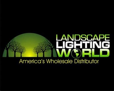 Landscape Lighting World Landscape Lighting World Logo Design Contest Logos By Kanava