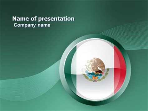 Mexico Presentation Template For Powerpoint And Keynote Ppt Star Mexican Themed Powerpoint Template