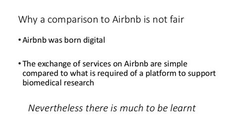 airbnb research making biomedical research more like airbnb
