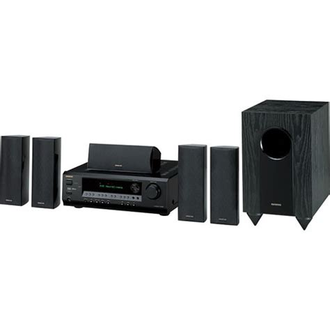 Home Theater Onkyo 7 1 Onkyo Ht S3100b 5 1 Channel Home Theater System Black
