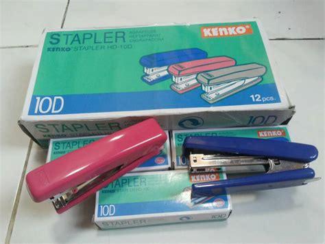 Stapler Staples Merk Kenko No 10 jual stapler kenko hd 10d staples hecter cekrekan kenko hd 10d eka atk