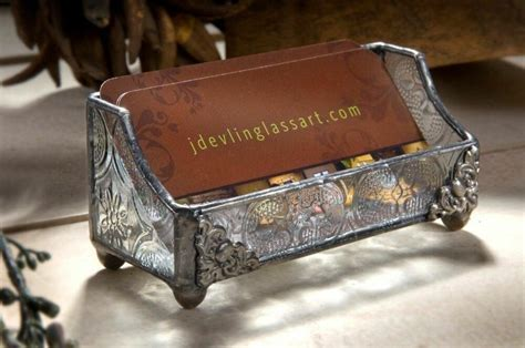 Vintage Business Card Holder