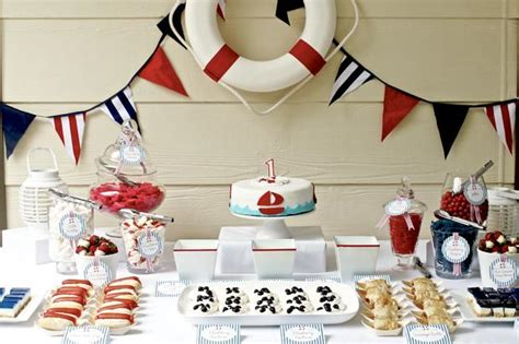 nautical themes nautical themed party baby shower ideas themes games