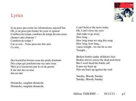 bloody lyrics the bloody sunday song