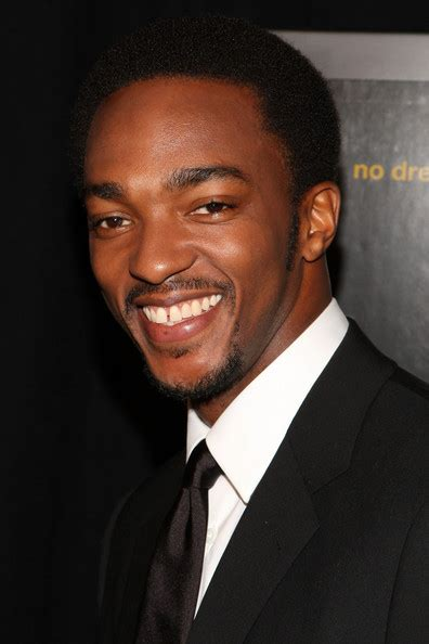actor anthony anthony mackie in quot notorious quot new york premiere inside