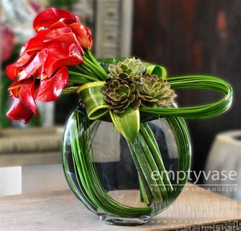 empty vase florist of los angeles amazing florals by