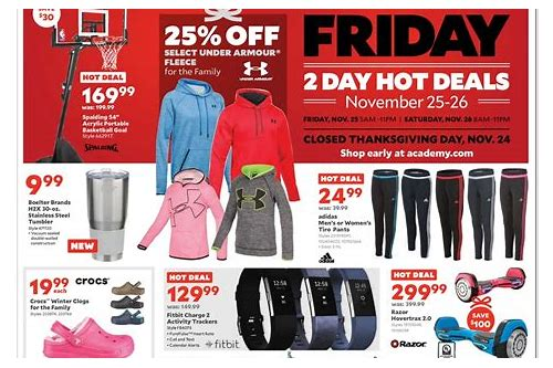 academy sporting goods black friday deals