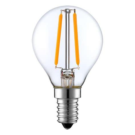 Led Light Bulbs 200 Watt Equivalent G45 Led Filament Bulb 2 Watt Dimmable 15w Equiv 200 Lumens By Lumegen
