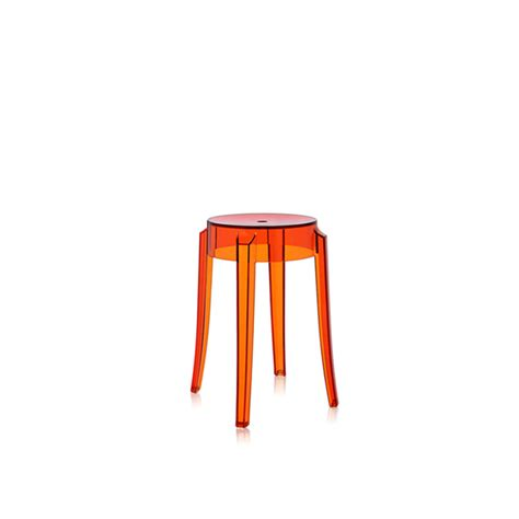 Sgabello Basso by Charles Ghost Kartell Sgabello Basso Dtime