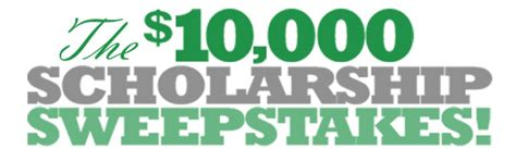 Scholarship Sweepstakes - gradsave 10 000 scholarship sweepstakes win college