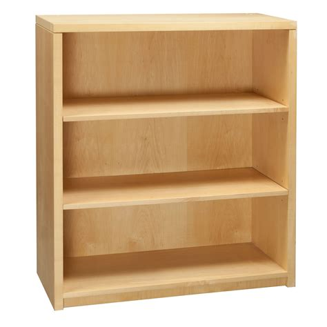 Maple Bookcase by 3 Shelf Used Bookcase Maple National Office Interiors