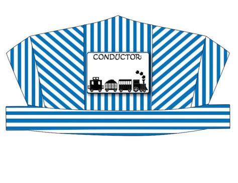 conductor hat template discover and save creative ideas