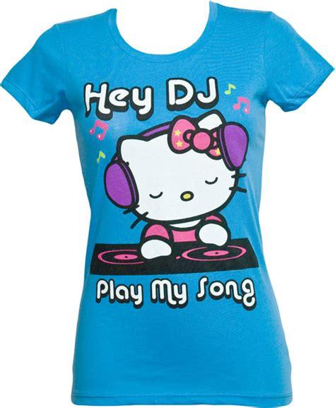 hello kitty t shirt dj hello kitty ladies t shirt