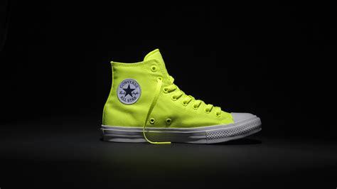 volt color converse chuck all ii shows its true colors