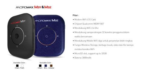 Pulsa Andromax Wifi pasca bayar modem wifi smartfren