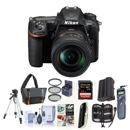 nikon d500 dslr body with 16 80mm ed vr lens and premium