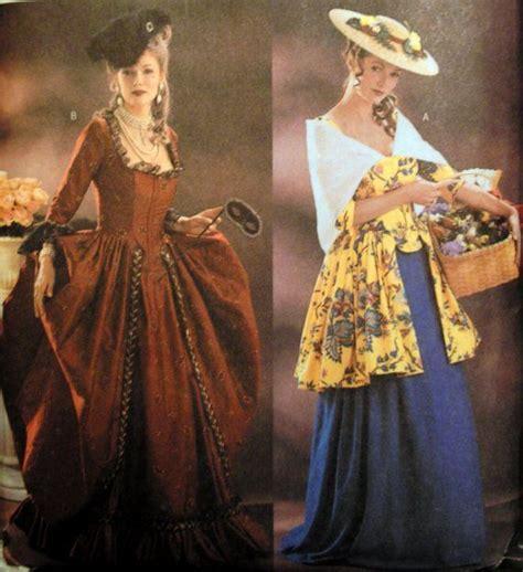 dress pattern history butterick 3640 making history colonial dress pattern 12 14