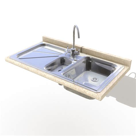 Kitchen Sink 3d Model Kitchen Sink Model