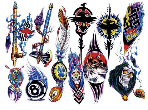 Tattoo Design Color Keren Png | tattoo design color sheets pictures to pin on pinterest