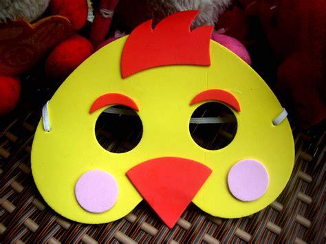 como hacer mascaras de pollitos con platos de papel mascaras deun pollito imagui