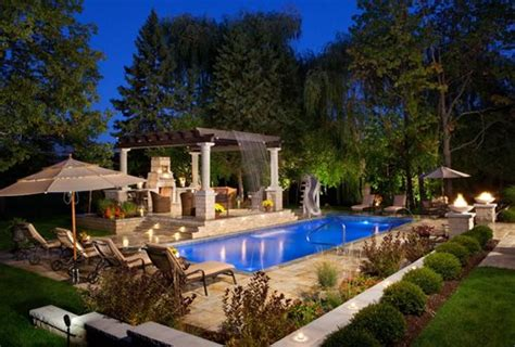backyard living pools large yard landscaping ideas landscaping network