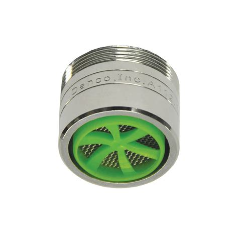 Water Faucet Aerator by 1 0 Gpm Water Saving Dual Thread Faucet Aerator In Chrome Danco