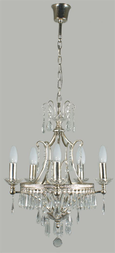 Antique Shabby Chic Mini Chandelier With 4 Lights Home Interior Exterior Two Arm Restored Chandeliers Chandelier