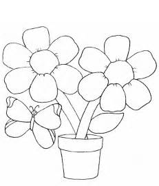 how to color flowers simple flower coloring pages coloring home