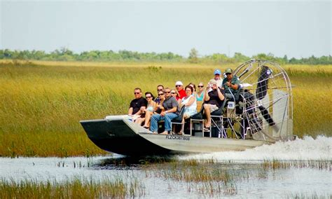 boat ride miami groupon coopertown airboats up to 29 off miami fl groupon
