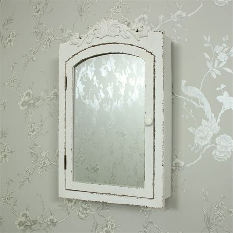 bathroom wall mirror cabinet cream french chic mirrored wall cabinet cupboard shelves
