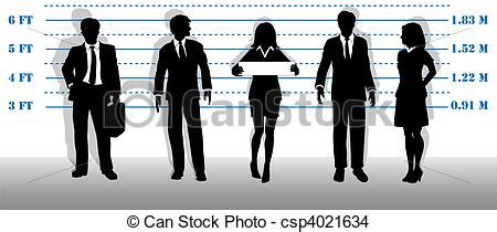 stock photo company eps vector of wanted business people lineup mugshot a