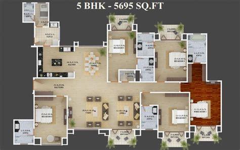 Mantri Espana Floor Plan