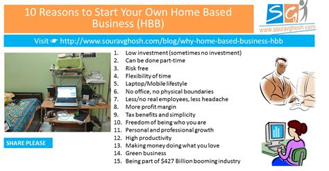 Reasons To Start Your Own Business by 15 Reasons To Start Your Own Home Based Business Hbb