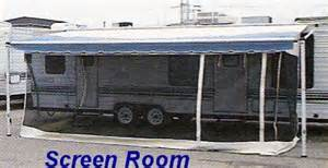screen for rv awning rv screen rooms for awnings