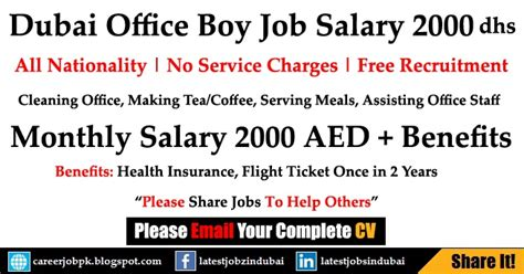 Mba Minimum Salary In Dubai by Schon Properties Careers Dubai For Office Boy With Salary