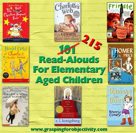 read picture books 101 read aloud books for elementary aged children