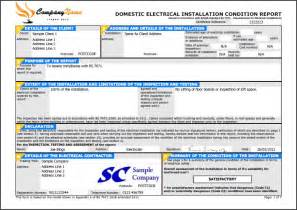 Electrical Installation Test Certificate Template by Easycert Electrical Software Test Inspection