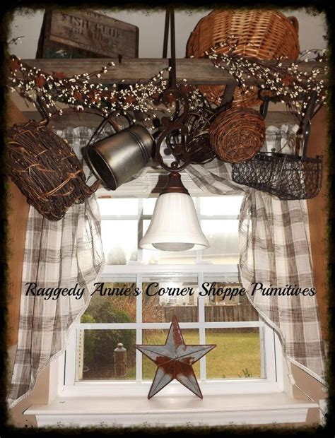 Curtains Above Window Decorating 25 Best Ideas About Country Kitchen Curtains On Pinterest Farmhouse Style Kitchen Curtains