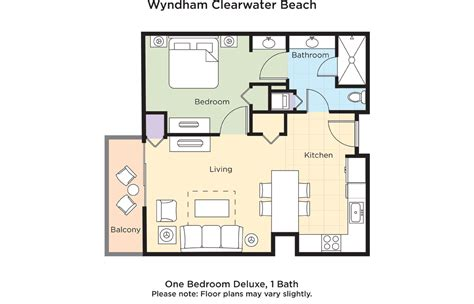 clearwater floor plan club wyndham wyndham clearwater beach resort