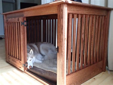 dog crate furniture bench items similar to extra large side entry wood dog crate