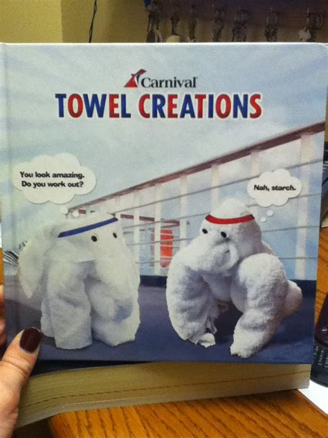 Towel Origami Book - show the how to make your own elephant out